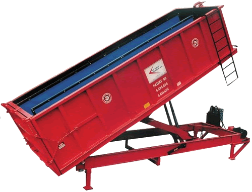 dewatering-container-roll-off-system