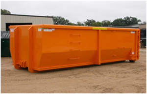 Roll-Off-dumpster with High Sides