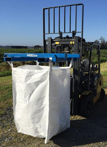 Bulk Bag Super Sack Lifting Handling Equipment Clean