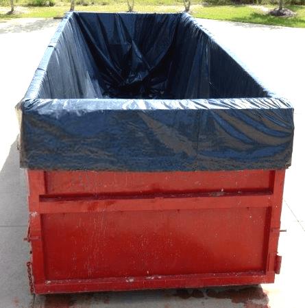roll-off dumpster liner