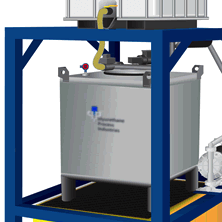compact chemical storage and transfer system