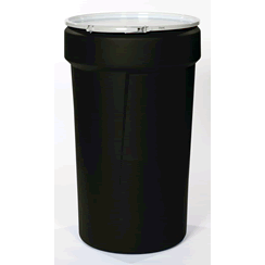 black poly drums
